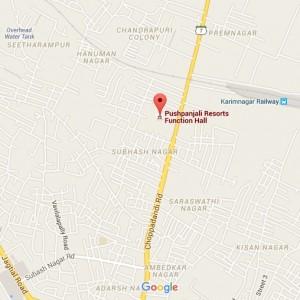 pushpanjali-Resort-map